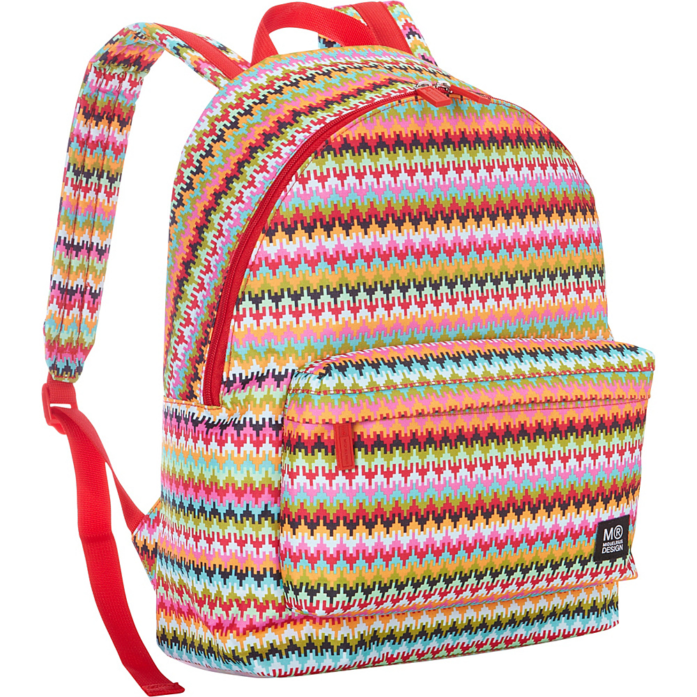 Miquelrius School Backpack Ethnic Pattern Miquelrius Everyday Backpacks