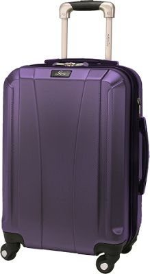 Skyway Pescadero 20 inch 4 Wheel Carry On Mulberry - Skyway Hardside Carry-On