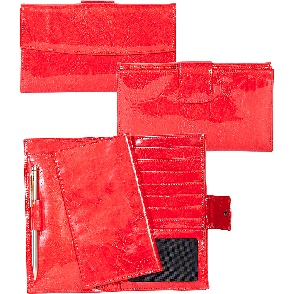 Scully Wallet Clutch Red Scully Women s Wallets