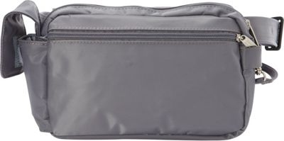 BeSafe by DayMakers RFID 3-Way Convertible Hiker Waistpack LX Pewter - BeSafe by DayMakers Waist Packs