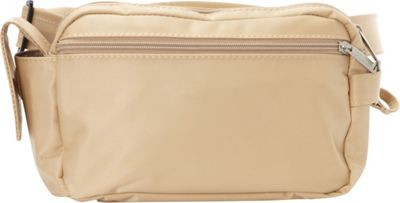 BeSafe by DayMakers RFID 3-Way Convertible Hiker Waistpack LX Taupe - BeSafe by DayMakers Waist Packs