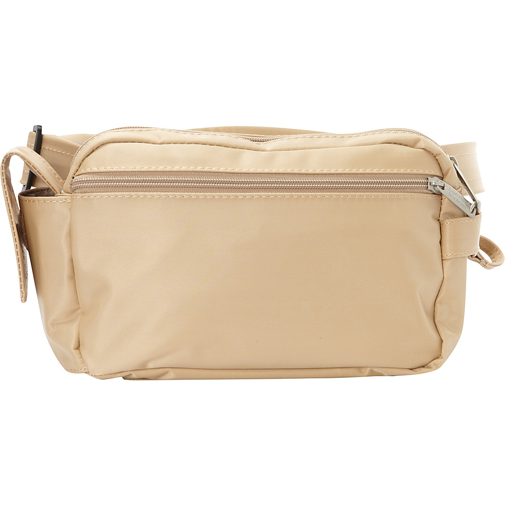 BeSafe by DayMakers RFID 3 Way Convertible Hiker Waistpack LX Taupe BeSafe by DayMakers Waist Packs