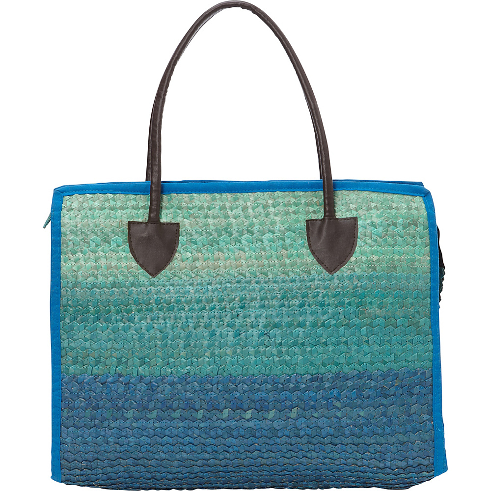 TLC you Balboa Large Tote Multi Blue TLC you Fabric Handbags
