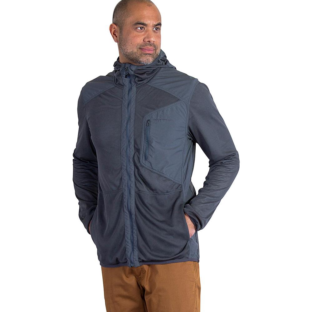 ExOfficio Mens BugsAway Sandfly Jacket L - Dark Pebble - ExOfficio Mens Apparel - Apparel & Footwear, Men's Apparel