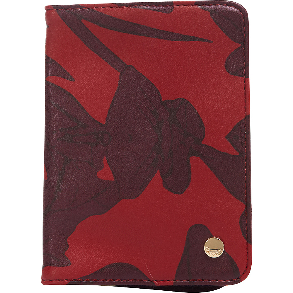 deux lux Eros Passport Red deux lux Travel Wallets