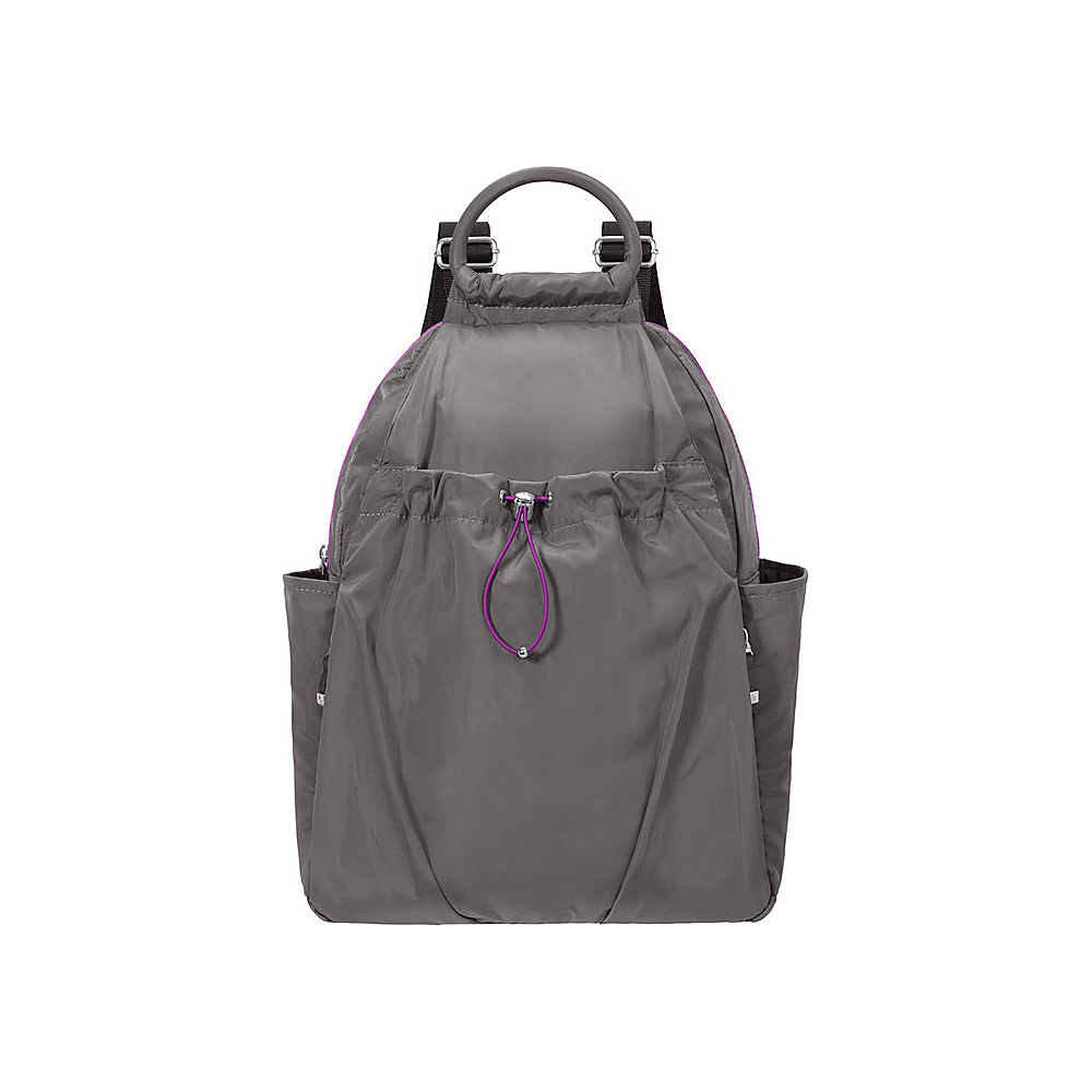 baggallini Center Backpack SMOKE - baggallini Gym Bags - Sports, Gym Bags