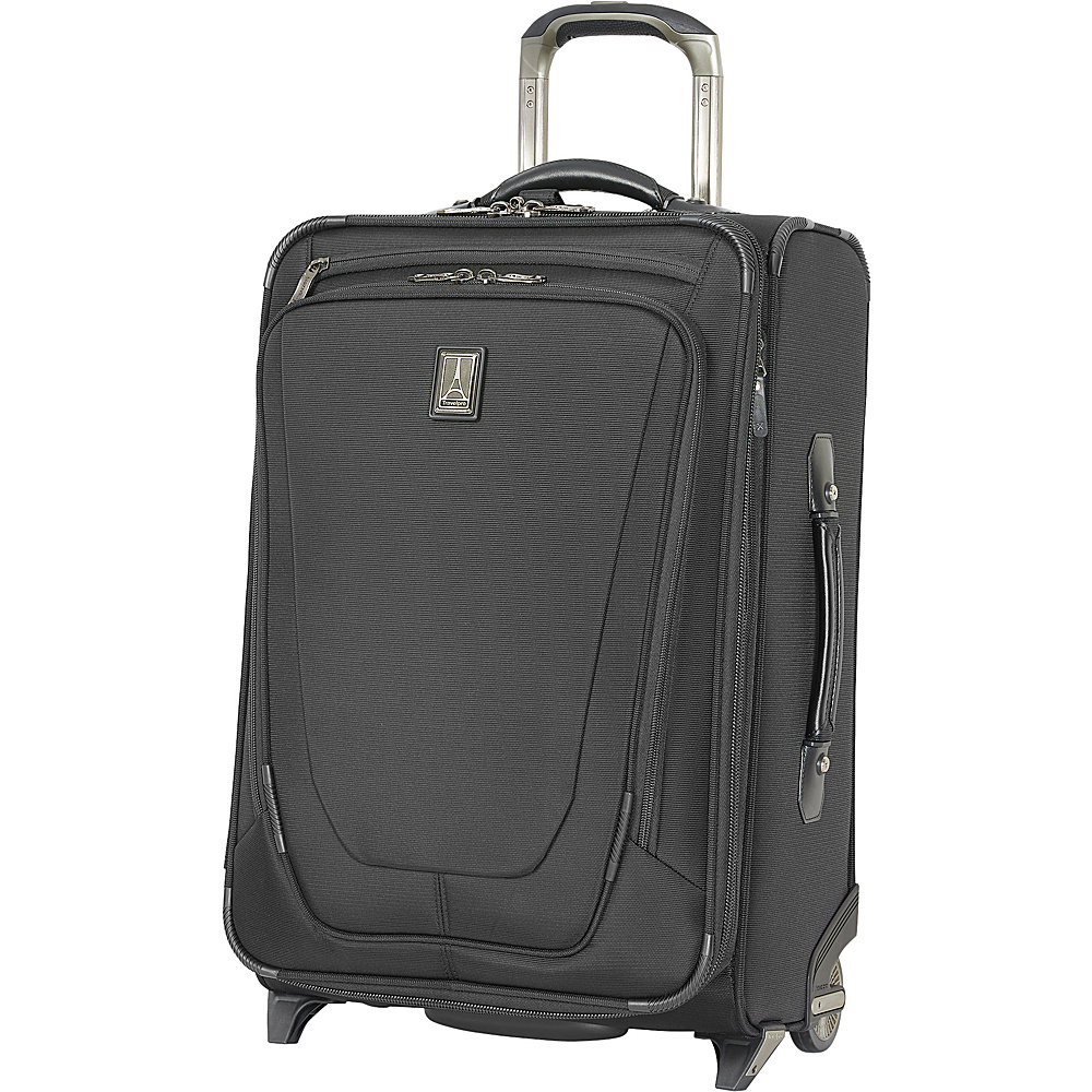 "Travelpro Crew 11 20"" Business Plus RFID Upright Black - Travelpro Softside Carry-On"