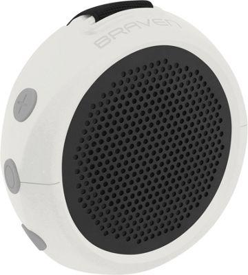Braven 105 Waterproof Bluetooth Speaker White/Gray/Gray - Braven Headphones & Speakers