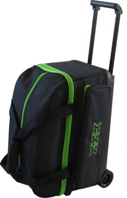 Tenth Frame Tenth Frame Classic Double Roller Bowling Ball Bag Lime - Tenth Frame Bowling Bags