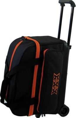 Tenth Frame Tenth Frame Classic Double Roller Bowling Ball Bag Orange - Tenth Frame Bowling Bags