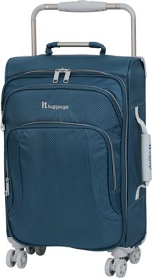 it luggage World's Lightest 8 Wheel 22 inch  Carry On Blue Ashes - it luggage Softside Carry-On