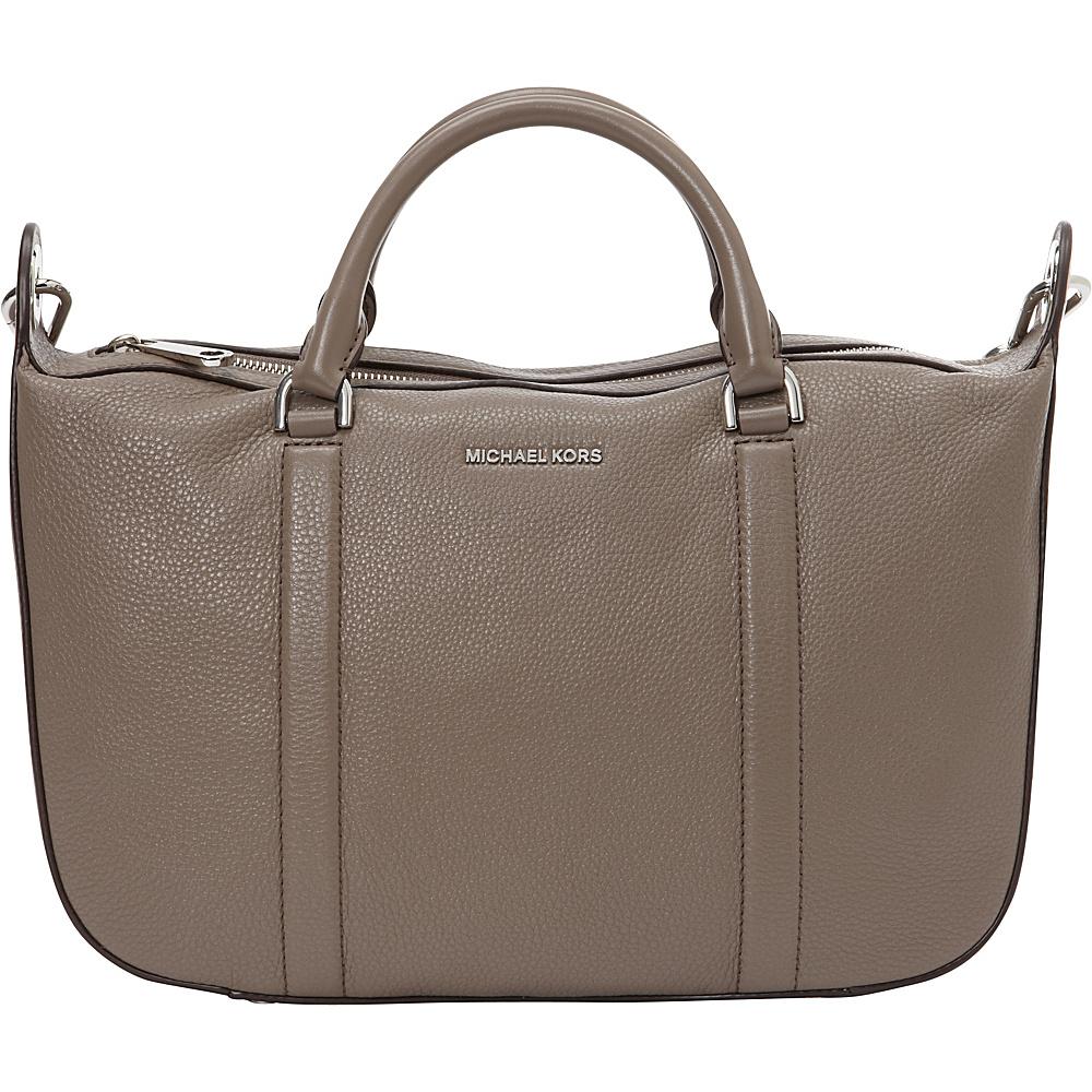 MICHAEL Michael Kors Raven Large Satchel Cinder - MICHAEL Michael Kors Designer Handbags