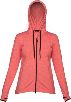 Swix Womens Ergon Hooded Full Zip Sweater L - Hibiscus - Swix Women's Apparel 10471416