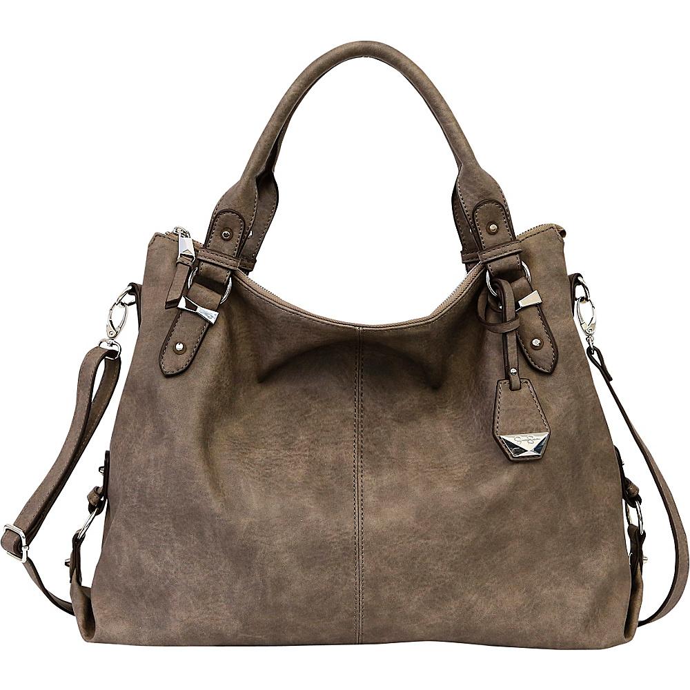 Jessica Simpson Mara Crossbody Tote Steel - Jessica Simpson Manmade Handbags