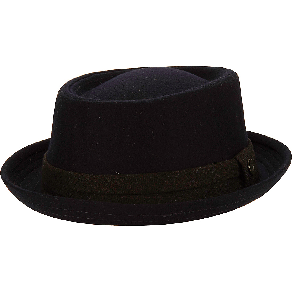 Ben Sherman Wool Porkpie Trilby Hat Staples Navy-L/XL - Ben Sherman Hats/Gloves/Scarves