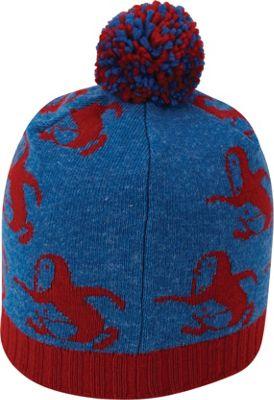 Original Penguin Running Pete Pom Beanie One Size - Classic Blue - Original Penguin Hats/Gloves/Scarves