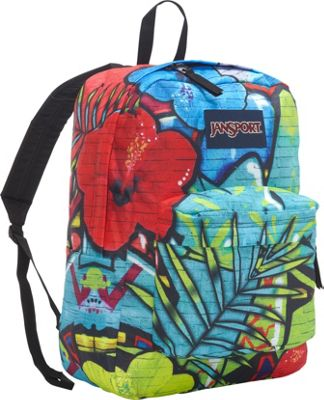 JanSport High Stakes Backpack- Sale Colors Multi Graffiti - JanSport Everyday Backpacks