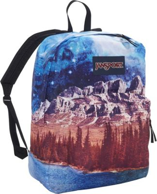 JanSport High Stakes Backpack- Sale Colors Multi Agate Skies - JanSport Everyday Backpacks
