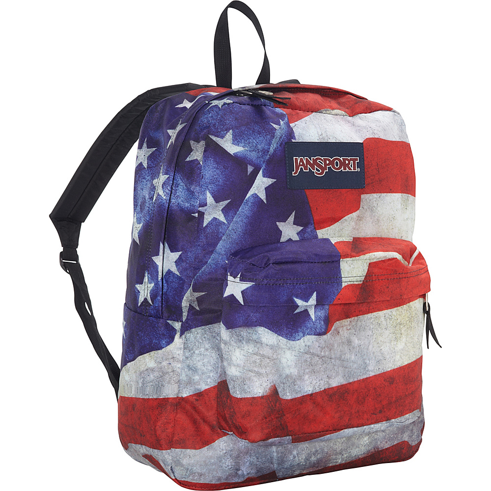 JanSport High Stakes Backpack- Discontinued Colors Multi Grunge USA - JanSport Everyday Backpacks - Backpacks, Everyday Backpacks