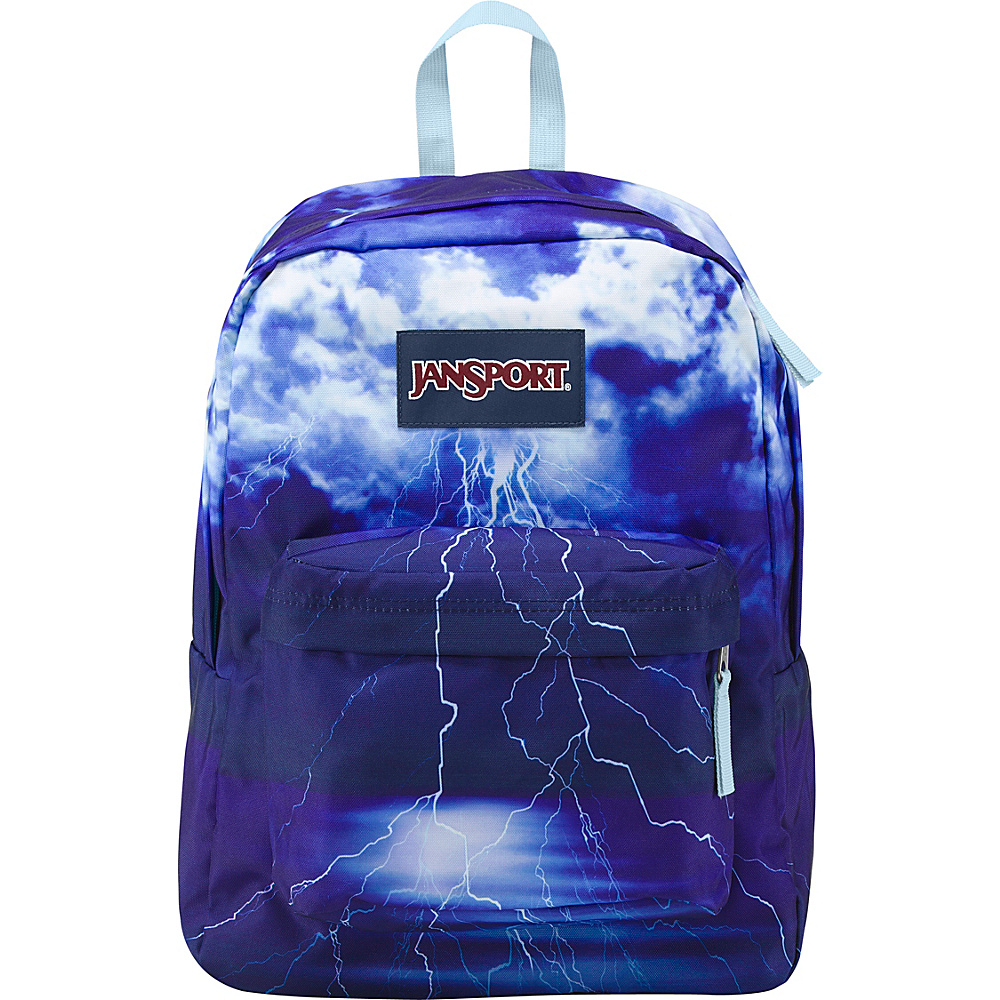 JanSport High Stakes Backpack- Discontinued Colors Multi Lightening Strike - JanSport Everyday Backpacks