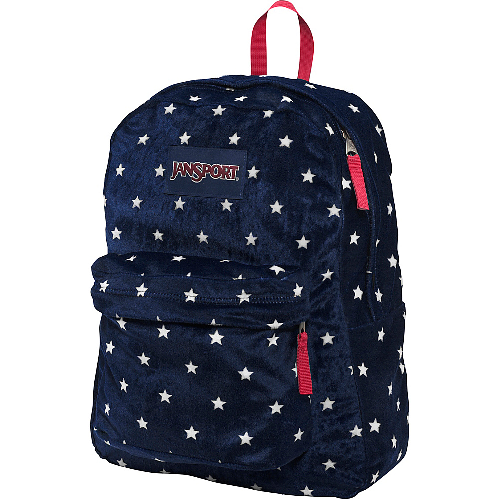 JanSport High Stakes Backpack- Discontinued Colors Navy Moonshine Star Spangled Plush - JanSport Everyday Backpacks - Backpacks, Everyday Backpacks