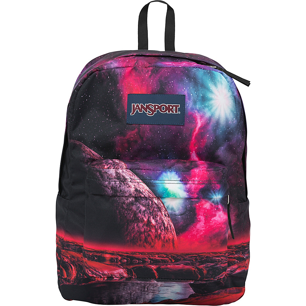 JanSport High Stakes Backpack- Discontinued Colors Multi Cosmic Waters - JanSport Everyday Backpacks - Backpacks, Everyday Backpacks