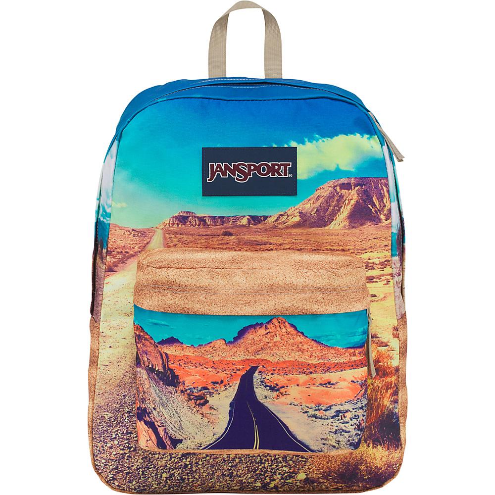 JanSport High Stakes Backpack- Sale Colors Desert Highway - JanSport Everyday Backpacks