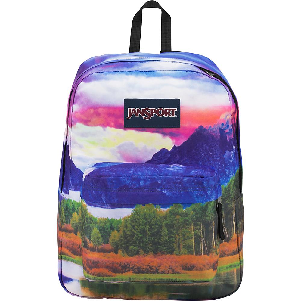 JanSport High Stakes Backpack- Sale Colors Tetons Sunset - JanSport Everyday Backpacks