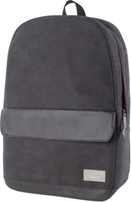 HEX Echo Canvas Backpack Supply Charcoal - HEX Business & Laptop Backpacks