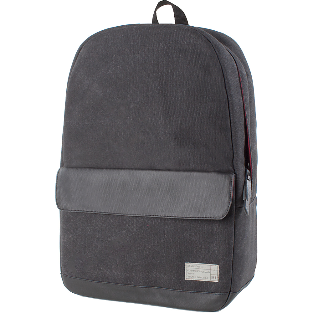 HEX Echo Canvas Backpack Supply Charcoal HEX Business Laptop Backpacks