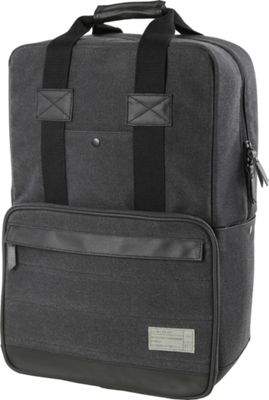 HEX Convertible Canvas Backpack Supply Charcoal - HEX Business & Laptop Backpacks