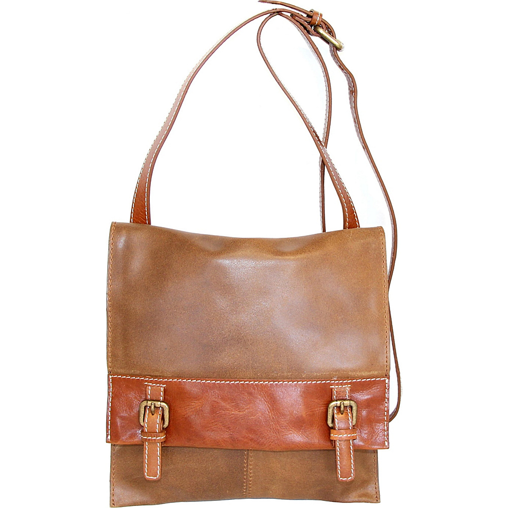 Nino Bossi She Loves Me Crossbody Saddle - Nino Bossi Leather Handbags - Handbags, Leather Handbags