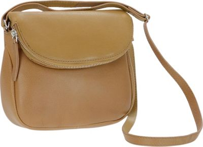 r r collections genuine leather flapover crossbody