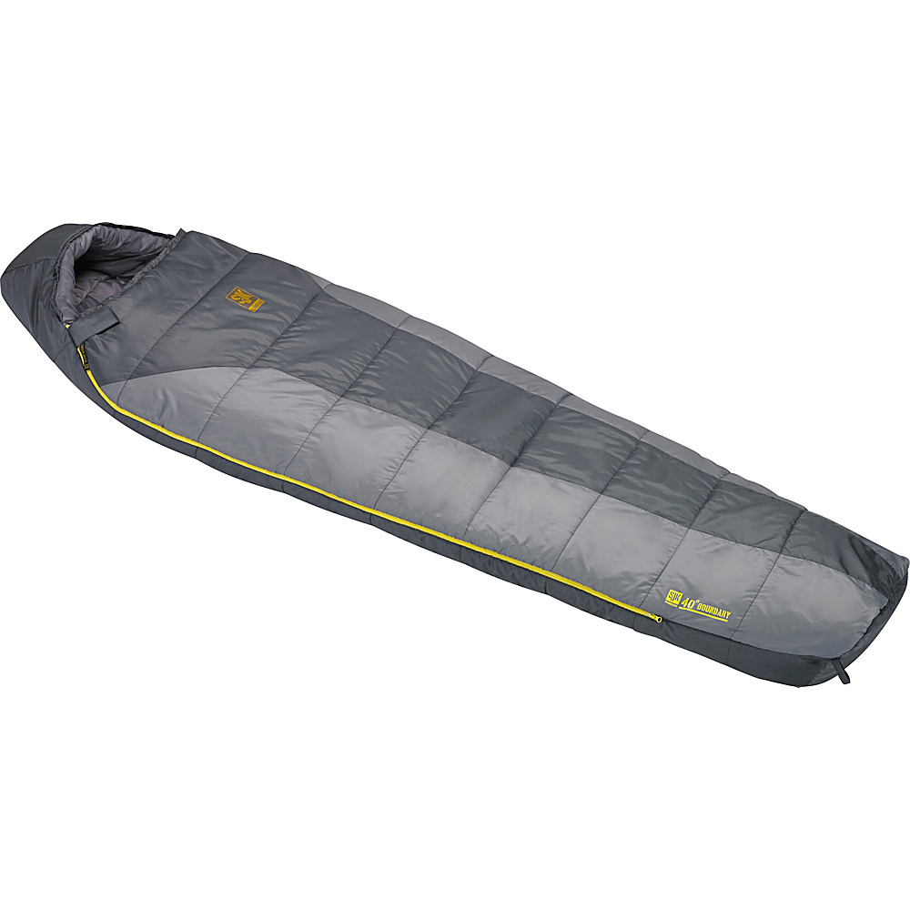 Slumberjack Boundary 40 Degree Reg Rh Two Tone Gray Slumberjack Outdoor Accessories