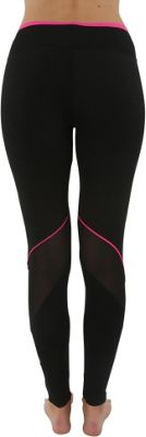 Electric Yoga Reflective Mesh Legging XS/S - Black/Hot Pink - Electric Yoga Women's Apparel