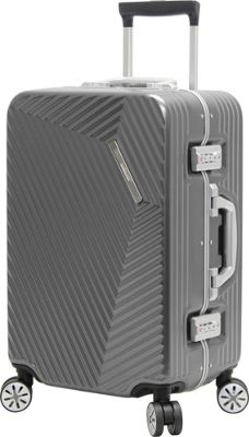 Andiamo Elegante 20 inch Hard Side Carry On Black Pearl - Andiamo Hardside Carry-On