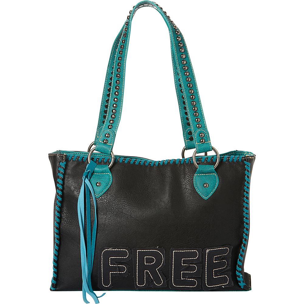Montana West Concealed Handgun Tote Black Montana West Manmade Handbags