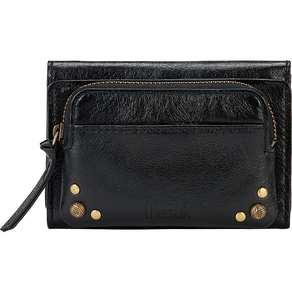 The Sak Sanibel Trifold Wallet Black Onyx The Sak Women s Wallets