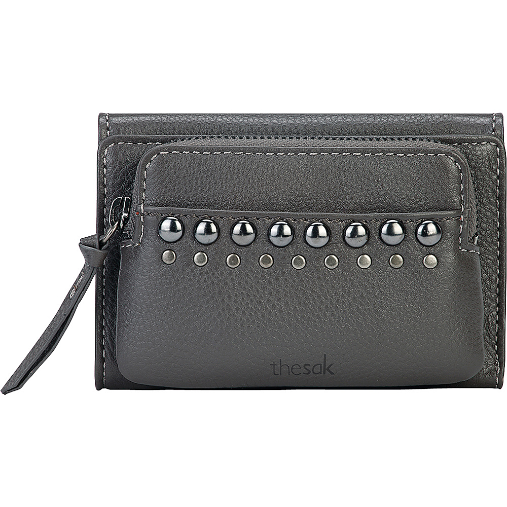The Sak Sanibel Trifold Wallet Slate Studs The Sak Women s Wallets