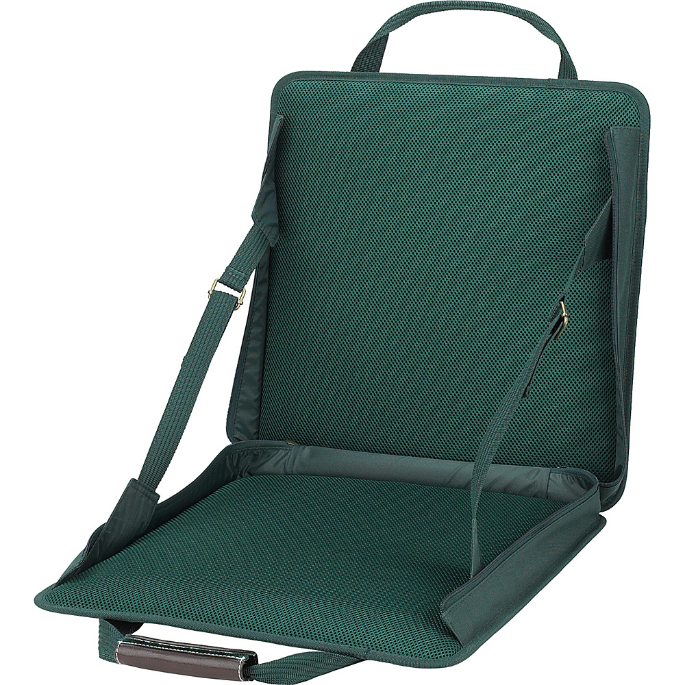 Picnic at Ascot Portable Adjustable Reclining Seat Green - Picnic at Ascot Outdoor Accessories - Outdoor, Outdoor Accessories