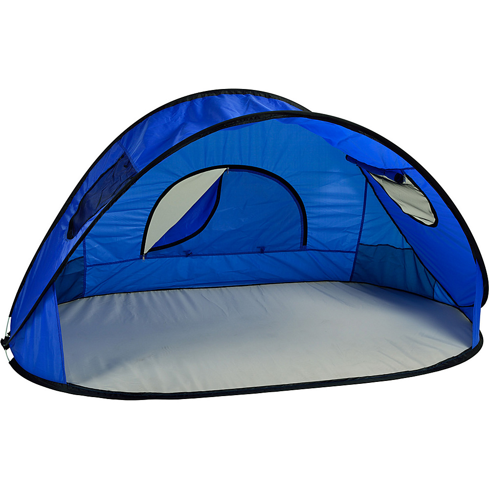Picnic at Ascot Family Size Instant Easy Up Beach Tent Sun Shelter Royal Blue - Picnic at Ascot Outdoor Accessories - Outdoor, Outdoor Accessories