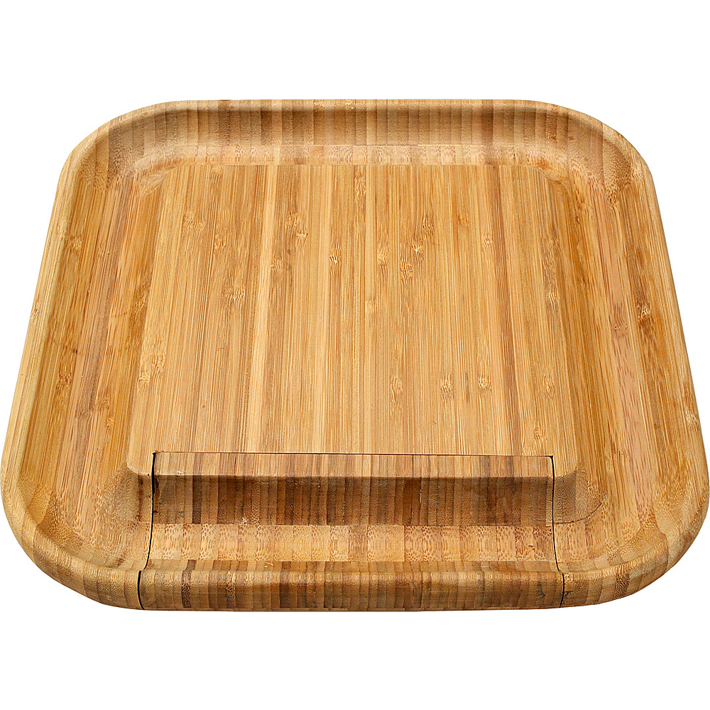 Picnic at Ascot Malvern Bamboo Cheese Board Set with 4 Tools Bamboo - Picnic at Ascot Outdoor Accessories - Outdoor, Outdoor Accessories