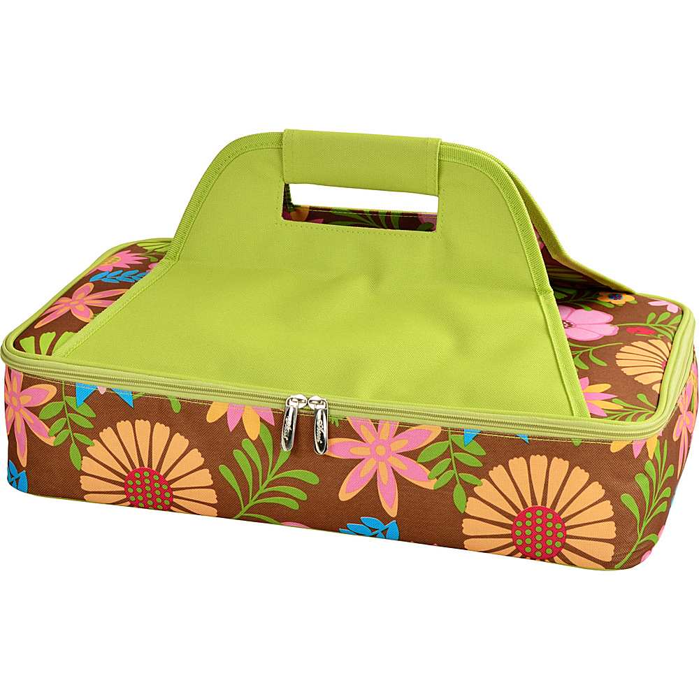 Picnic at Ascot Insulated Casserole Carrier to keep Food Hot or Cold Floral - Picnic at Ascot Outdoor Accessories - Outdoor, Outdoor Accessories