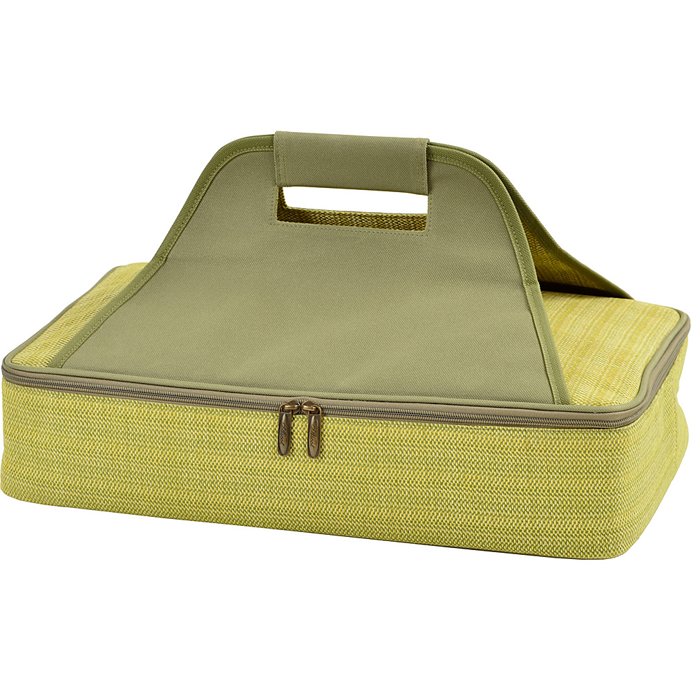 Picnic at Ascot Insulated Casserole Carrier to keep Food Hot or Cold Olive Tweed - Picnic at Ascot Outdoor Accessories - Outdoor, Outdoor Accessories