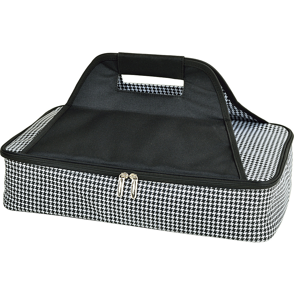Picnic at Ascot Insulated Casserole Carrier to keep Food Hot or Cold Houndstooth - Picnic at Ascot Outdoor Accessories - Outdoor, Outdoor Accessories