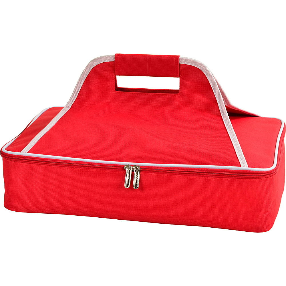 Picnic at Ascot Insulated Casserole Carrier to keep Food Hot or Cold Red - Picnic at Ascot Outdoor Accessories - Outdoor, Outdoor Accessories