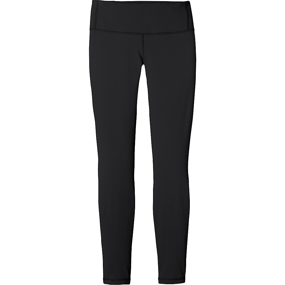 Patagonia Womens Centered Tights S - Black - Patagonia Womens Apparel - Apparel & Footwear, Women's Apparel