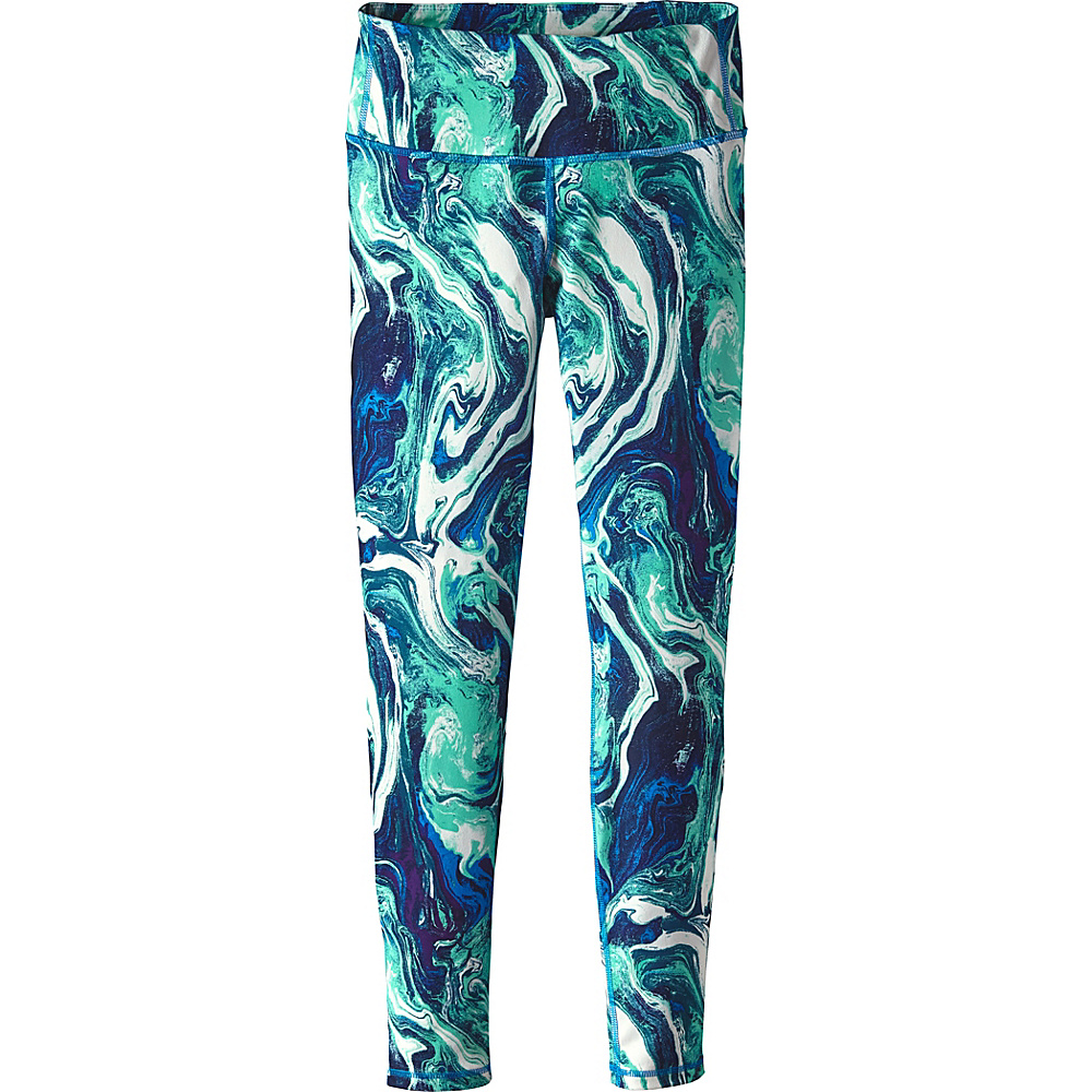 Patagonia Womens Centered Tights XL - Rivermouth: Andes Blue - Patagonia Womens Apparel - Apparel & Footwear, Women's Apparel