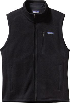 Patagonia Mens Better Sweater Vest S - Black - Patagonia Men's Apparel 10476156