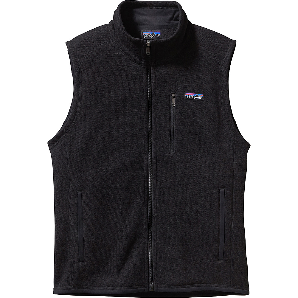 Patagonia Mens Better Sweater Vest XS - Black - Patagonia Mens Apparel - Apparel & Footwear, Men's Apparel